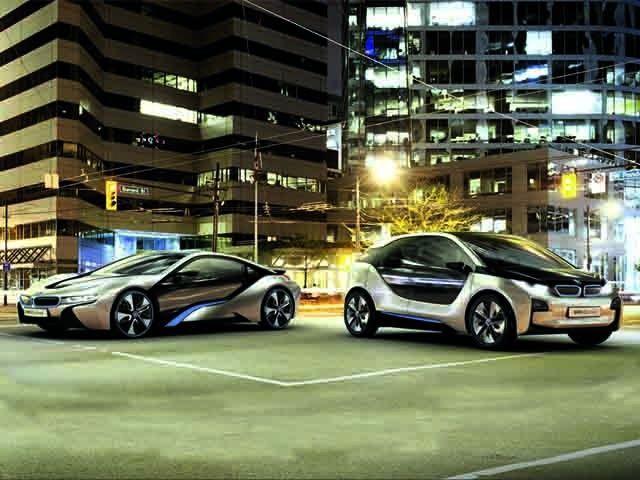 BMW i3 and i8 Concept Study
