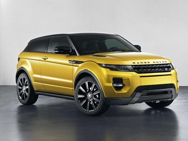 Range Rover Evoque Sicillian Yellow Edition
